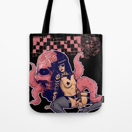 Thigh highs and Octopi Tote Bag