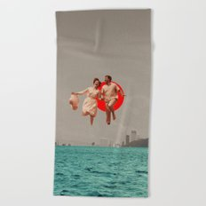 Don't Look Back Beach Towel