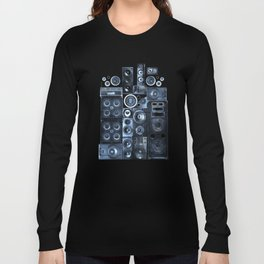 Music Speaker Sound Stack Long Sleeve T-shirt
