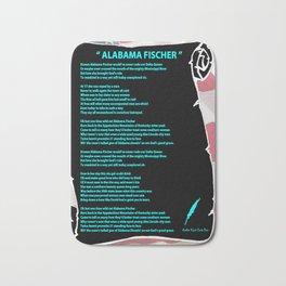 ALABAMA'S SONG Bath Mat