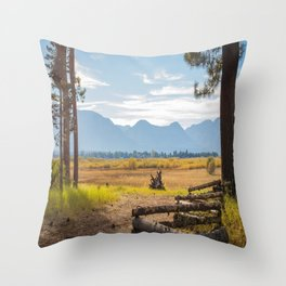 Fall in Tahoe Throw Pillow