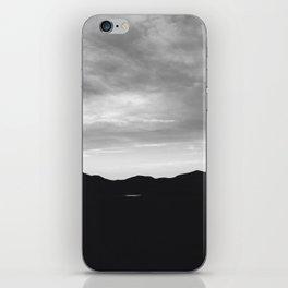 Oklahoma mountains at night iPhone Skin