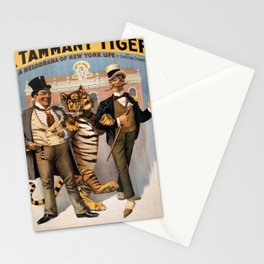 Vintage poster - Tammany tiger Stationery Cards