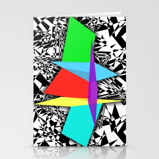 Color Sculpture Stationery Cards