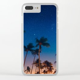 California Nights Clear iPhone Case