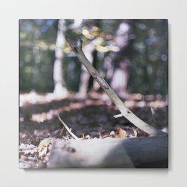 diagonal Metal Print