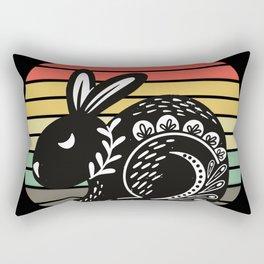 Caerbannog: Home of the Killer Rabbit Rectangular Pillow