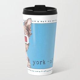 Twiggy the Yorkie Travel Mug