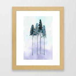 Siberian Forest 2 Framed Art Print