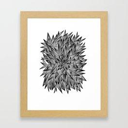 Triangle Jumble Framed Art Print