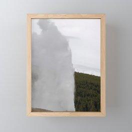 Old Faithful Framed Mini Art Print