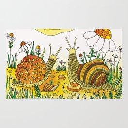 Noah's Ark - Snail Rug