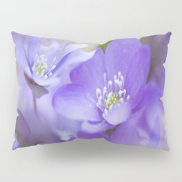 Violet Wild Flowers In Forest #decor #society6 #buyart Pillow Sham