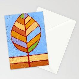 Winter Leaf Stationery Cards