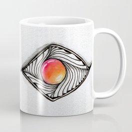 Doodled Gem Sparkle Eye Coffee Mug