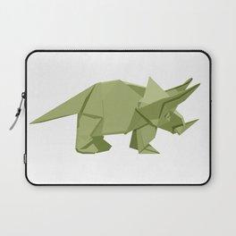 Origami Triceratops Laptop Sleeve