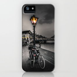 Of Lamps and Bikes iPhone Case