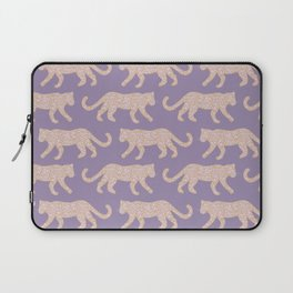 Kitty Parade - Pink on Lavender Laptop Sleeve