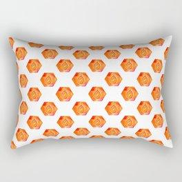 4 elements: Fire Rectangular Pillow