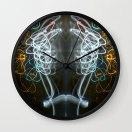 Symmetry of Light in Colour Wall Clock