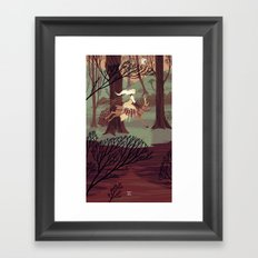 6 of Swords Framed Art Print