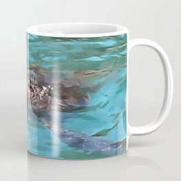 Loggerhead Sea Turtle Coffee Mug