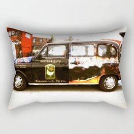 British Taxi Rectangular Pillow