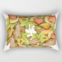 Oak and Maple Rectangular Pillow