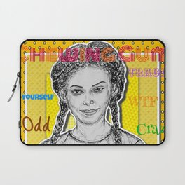 (Chewing Gum - Michaela Coel) - yks by ofs珊 Laptop Sleeve