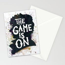 The Game Is On - A Sherlock tribute Stationery Cards