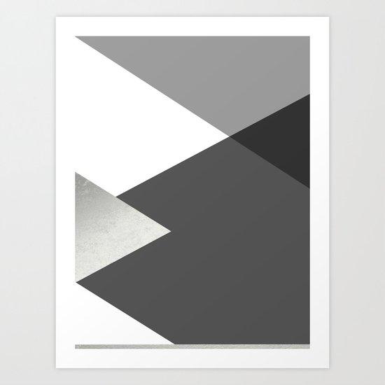 Geometrics II - grey black silver by galeswitzer