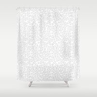 sprinkles Shower Curtains featuring Sprinkles by Jenni Freidman