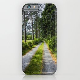 Country Path Walks iPhone Case