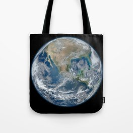 North America from Space Tote Bag