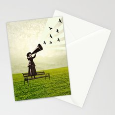 singing birds Stationery Cards