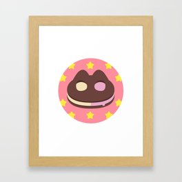 Cookie Cat! [textless] Framed Art Print