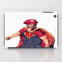 super mario iPad Cases featuring Super Mario by Mastodon