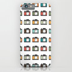 Colourful Camera Icons iPhone 6s Slim Case