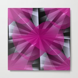 3D abstraction -06- Metal Print