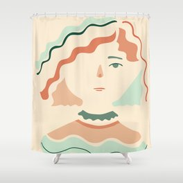 Inspired by Sophia Shower Curtain