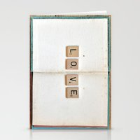 kindle Stationery Cards featuring Book Love by elle moss