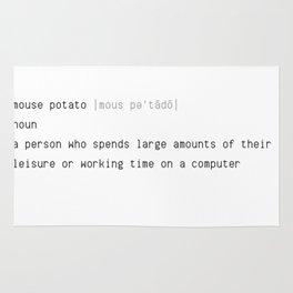 Mouse Potato Definition Rug