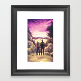 Pollution from the Sweetums Factory Framed Art Print