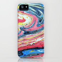 Suminagashi 10 iPhone Case
