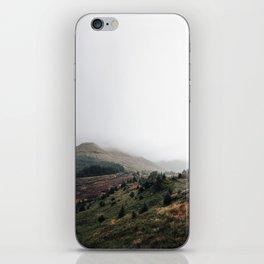 Scottish landscape iPhone Skin