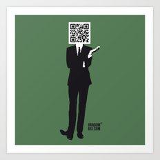 Suit Art Print