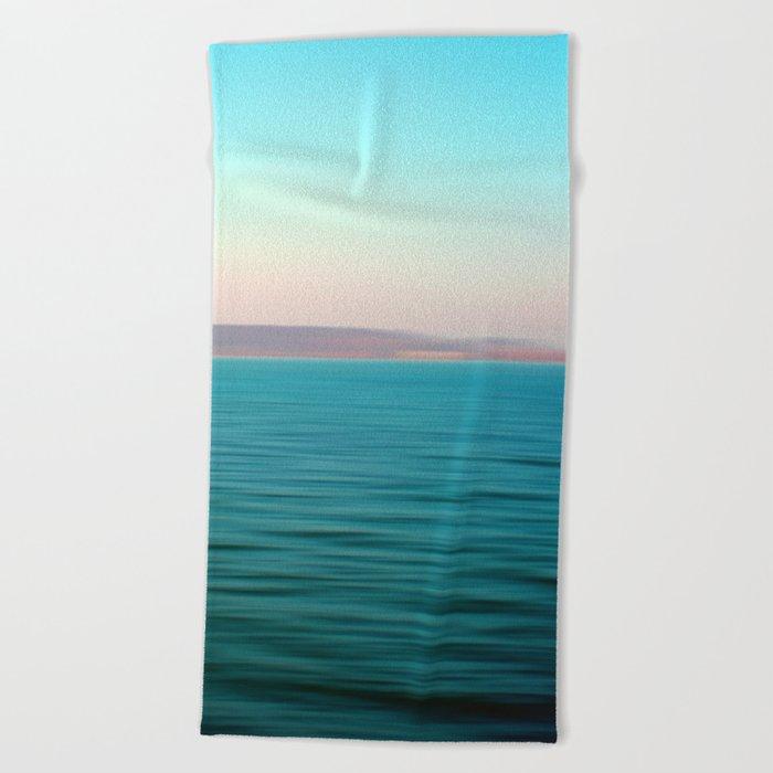 "Balaton, the ""Hungarian Sea"" Beach Towel"