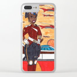 Smile my Lady Clear iPhone Case