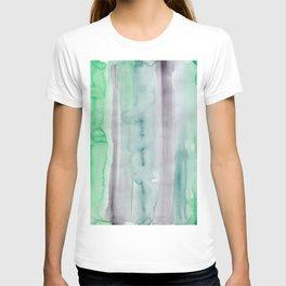 22    190907   Watercolor Abstract Painting T-shirt