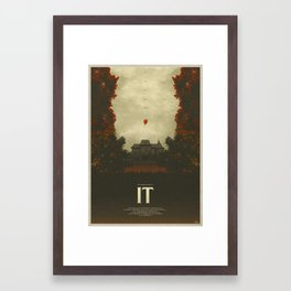 We All Float - It Framed Art Print